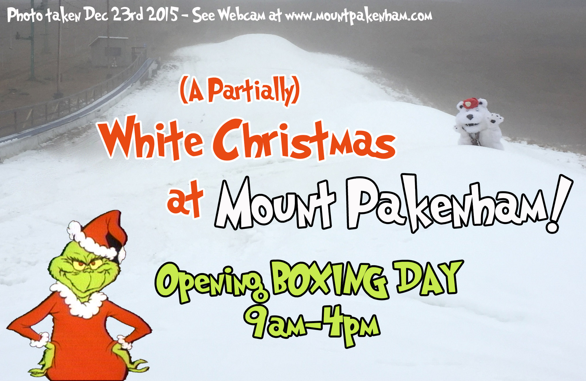 Opening Boxing Day!