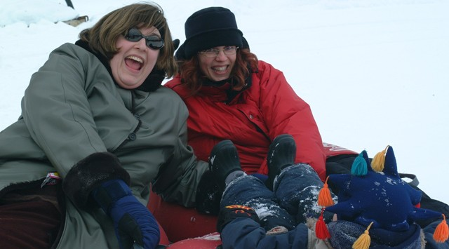 "Who said Snow Tubing is ""child's play""?"