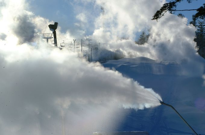 Early Season Snowmaking